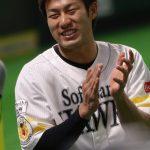 柳田悠岐(ソフトバンク)FA移籍先は広島カープ?巨人?成績や年俸、奥さんや子供は?