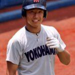 増田珠(横浜)出身中学やプロ評価や通算成績、2017年ドラフトはロッテ?横浜?