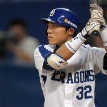 大島洋平(中日)今年首位打者?年俸や成績、結婚や子供も気になる!