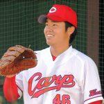 高橋樹也(広島)経歴や年俸、2軍成績や投球スタイルについても