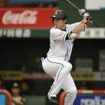 秋山翔吾(西武)今季首位打者!?経歴や生い立ち、年俸、嫁や子供についても気になる!