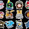 プロ野球12球団の経歴、正式名称、略称、一文字表記のまとめ