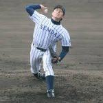馬場皐輔(仙台大)スカウト評価やドラフト先、投球スタイルや球速球種、家族や彼女についても!阪神が外れ一位で交渉権獲得!