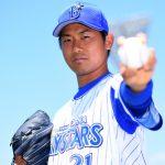 今永昇太(横浜)ハマのエースの年俸や成績や球速球種、彼女や結婚についても!