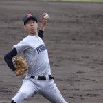 松本隆之介(横浜高校)戸塚シニア出身の注目1年生の球速球種、スカウト評価や家族についても