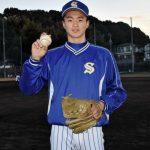土居豪人(松山聖陵)出身中学や球速球種、アドゥワ2世のスカウト評価や家族や彼女についても